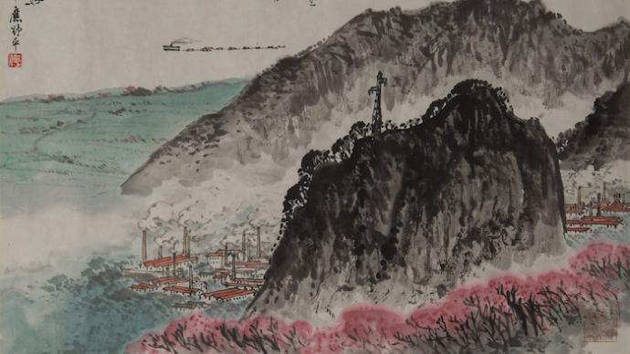 """丰子恺吴湖帆笔下的毛泽东诗词,上海展""""江山如画"""""""
