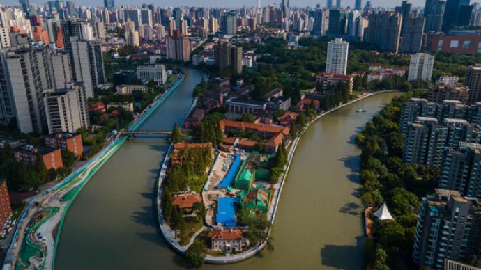 城事|苏州河华政大学段景观23日正式开放