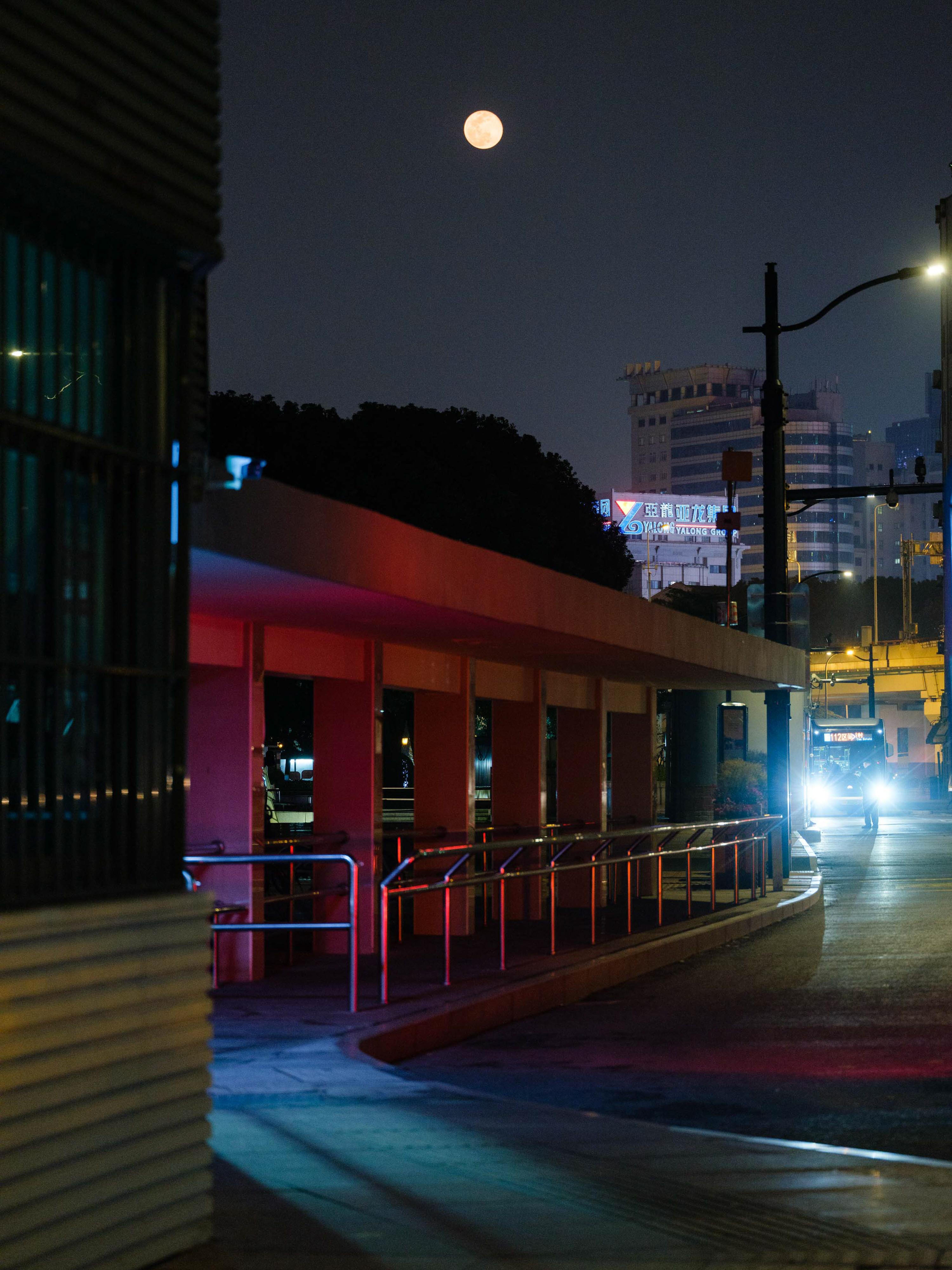 2020年3月,上海一处公共汽车站。万博max官网地址新闻记者 周平浪 图