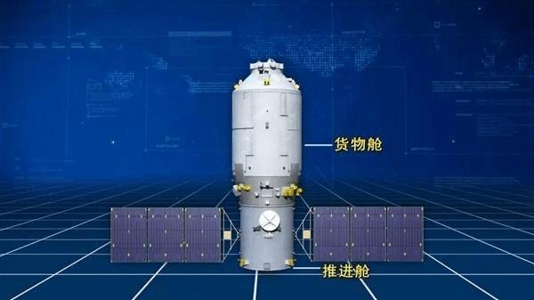 天舟三号货运飞船结构图