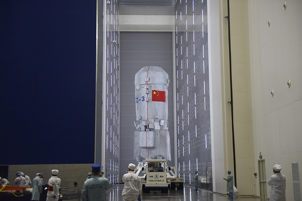 天舟三号货运飞船 本文图片均为中国航天科技集团提供