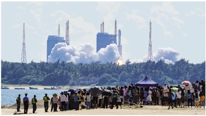 """天舟三号货运飞船发射任务详解:这是第二件太空""""包裹"""""""