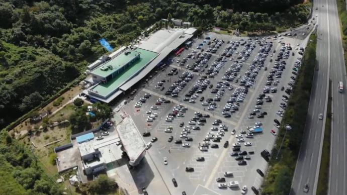 韩国疫情中迎来中秋假期返乡潮,多地出现拥堵