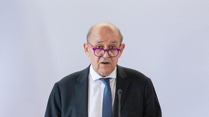 法国外长在联合国大会呼吁欧洲国家认真思考与美国的同盟问题
