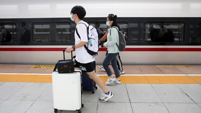 铁路中秋小长假运输收官:全国铁路发送旅客3499万人次