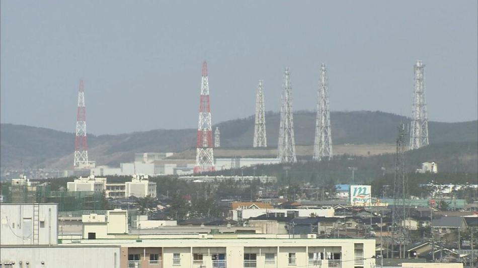 柏崎刈羽核电站(新潟电视台报道截图)