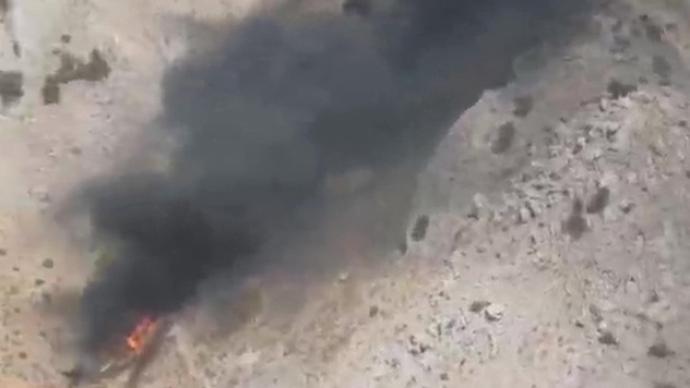 外媒:巴基斯坦空军一小型教练机坠毁,伤亡人数未知
