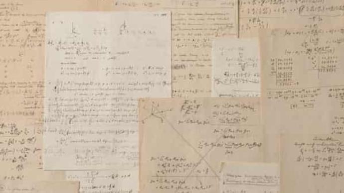 爱因斯坦手写相对论计算稿将被拍卖,估价高达300万欧元