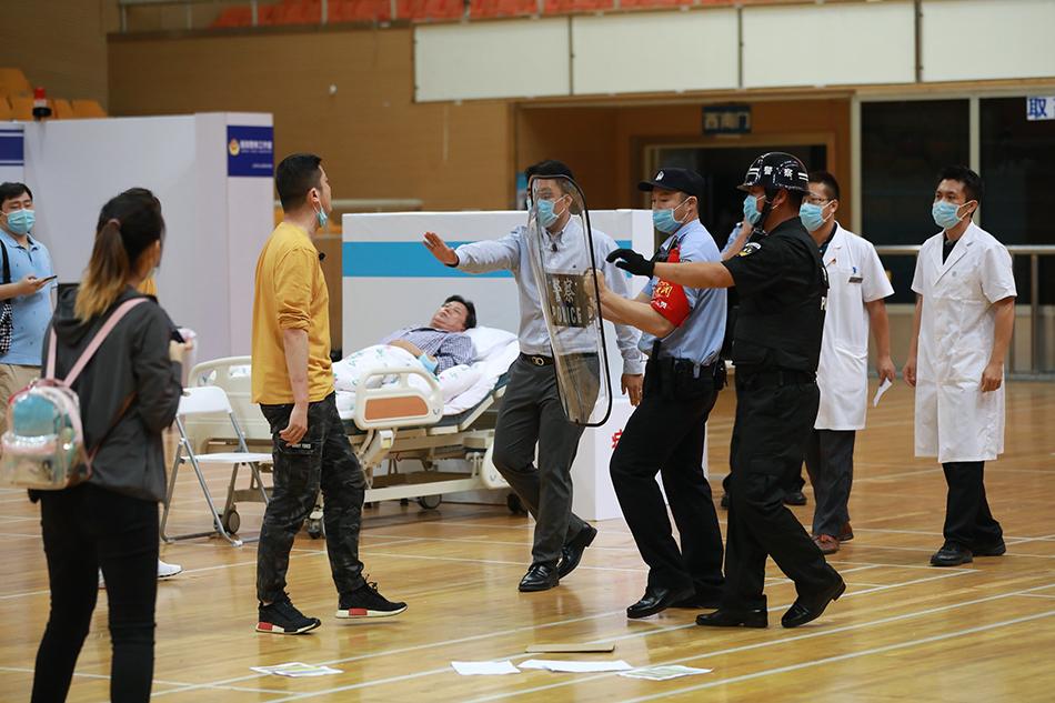北京醫警聯動應對涉醫案事件大比武現場