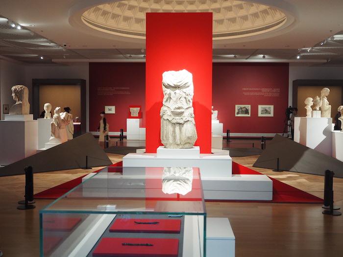 """国际交流馆""""古罗马:城市与帝国""""展览现场"""