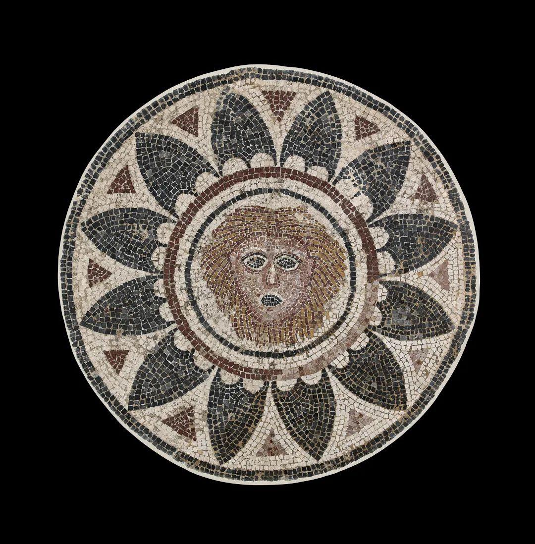 马赛克镶嵌画 公元4世纪