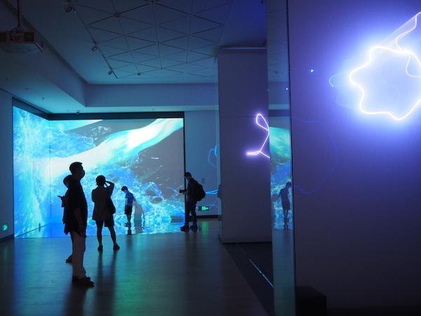 现代艺术特展:糸——已知·未知的互文 展览现场