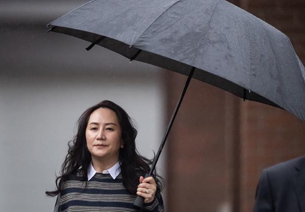 当地时间2020年11月23日,加拿大温哥华,孟晚舟案的听证会在加拿大温哥华再度开庭。通过孟晚舟和加拿大政府双方律师的交叉质询加拿大执法官员及边境官员,孟的律师试图证实相关逮捕程序侵犯了她的权利,并争取以滥用程序为由驳回引渡要求。