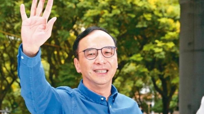"""朱立伦:中国国民党在两岸关系路线上不惧民进党任何""""标签"""""""