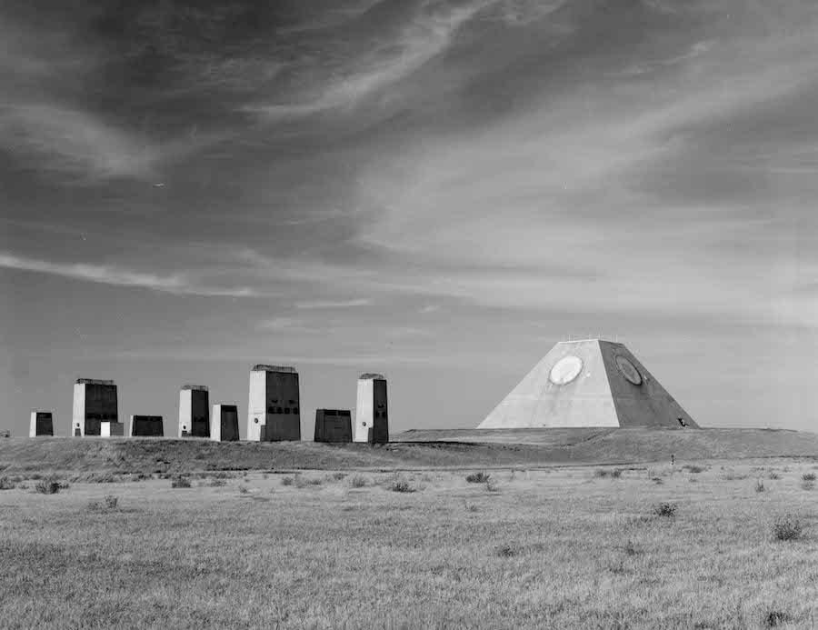 """美国版""""金字塔""""近日被美国国会图书馆曝光。""""金字塔""""是美国军方在冷战期间用以击落苏联洲际弹道导弹(ICBM)的防御设施的一部分。"""