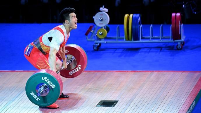 石智勇破总成绩世界纪录,夺得全运会冠军