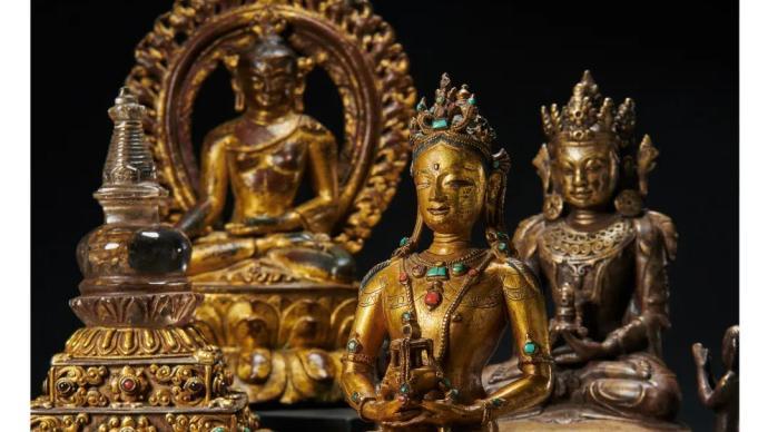 明末清ぷ初佛像等12件文物��g品�K�拿浪骰兀�入藏←西藏博物�^