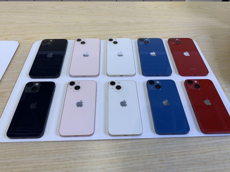 iPhone 13和iPhone 13 mini