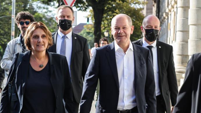 德国联邦议院选举初步结果出炉,社民党取得多数席位
