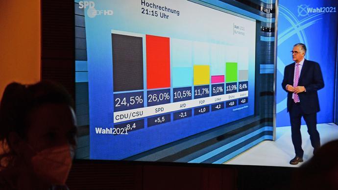 德国大选联盟党遭历史性败绩,但总理花落谁家尚在未定之天
