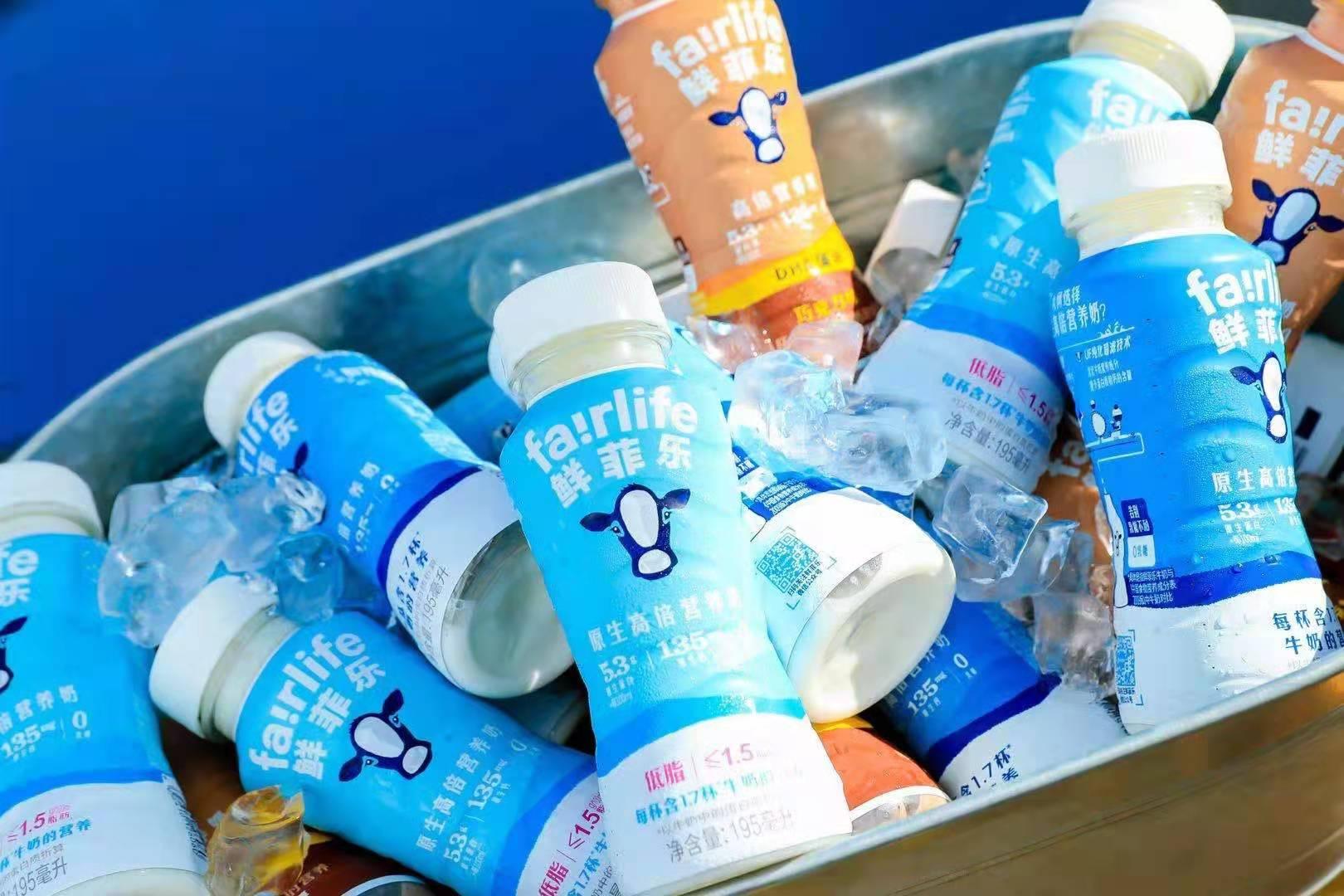蒙牛与可口可乐强强联手推出鲜菲乐,用科技开辟低温奶全新赛道