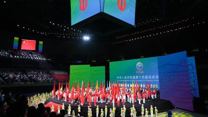 新华社盘点第十四届全运会十大新人:全红婵、王芝琳等在列