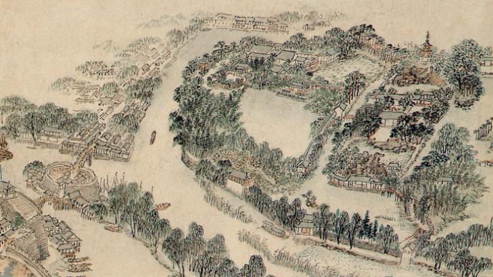 游于园——关于明代私家园林实景绘画