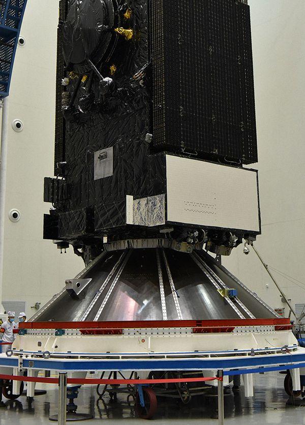 实践二十号卫星是目前世界上最重的通信卫星。