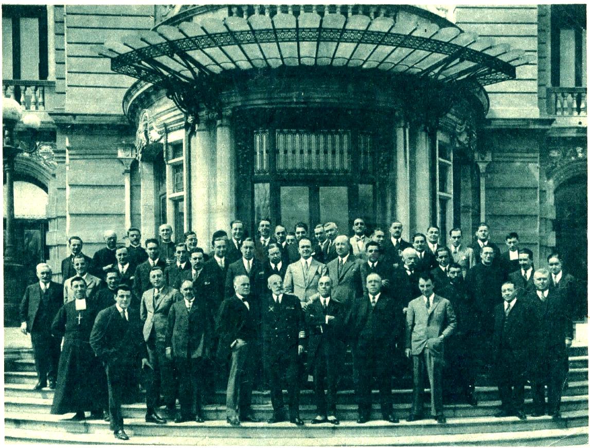 上海的西班牙人社区,刊登于《ABC》(1927年5月3日)。上海塞万提斯图书馆供图
