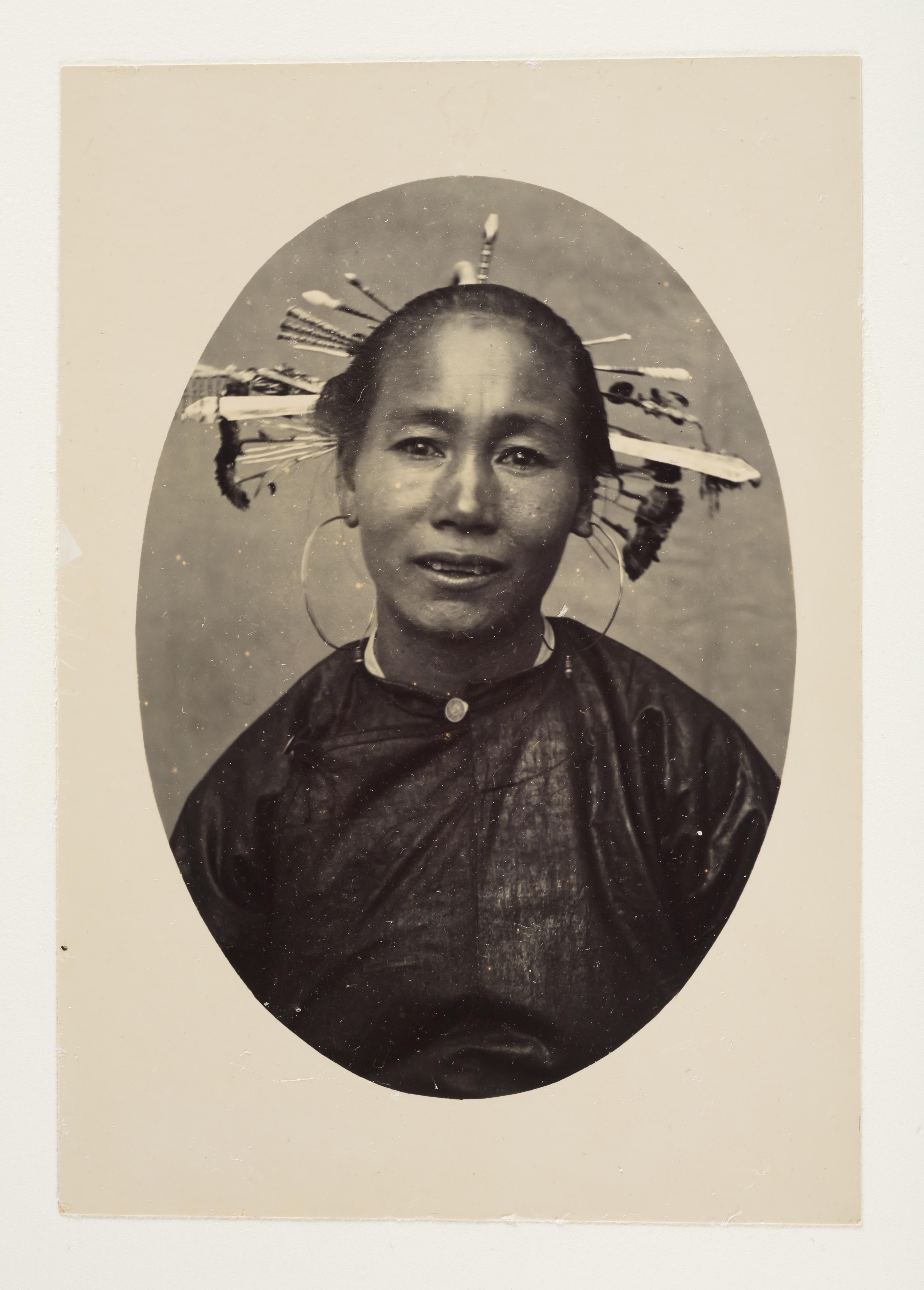 弗兰登相册里的胡安·门卡里尼的照片 (约1895),收藏于里尔自然史博物馆。由上海塞万提斯图书馆供图