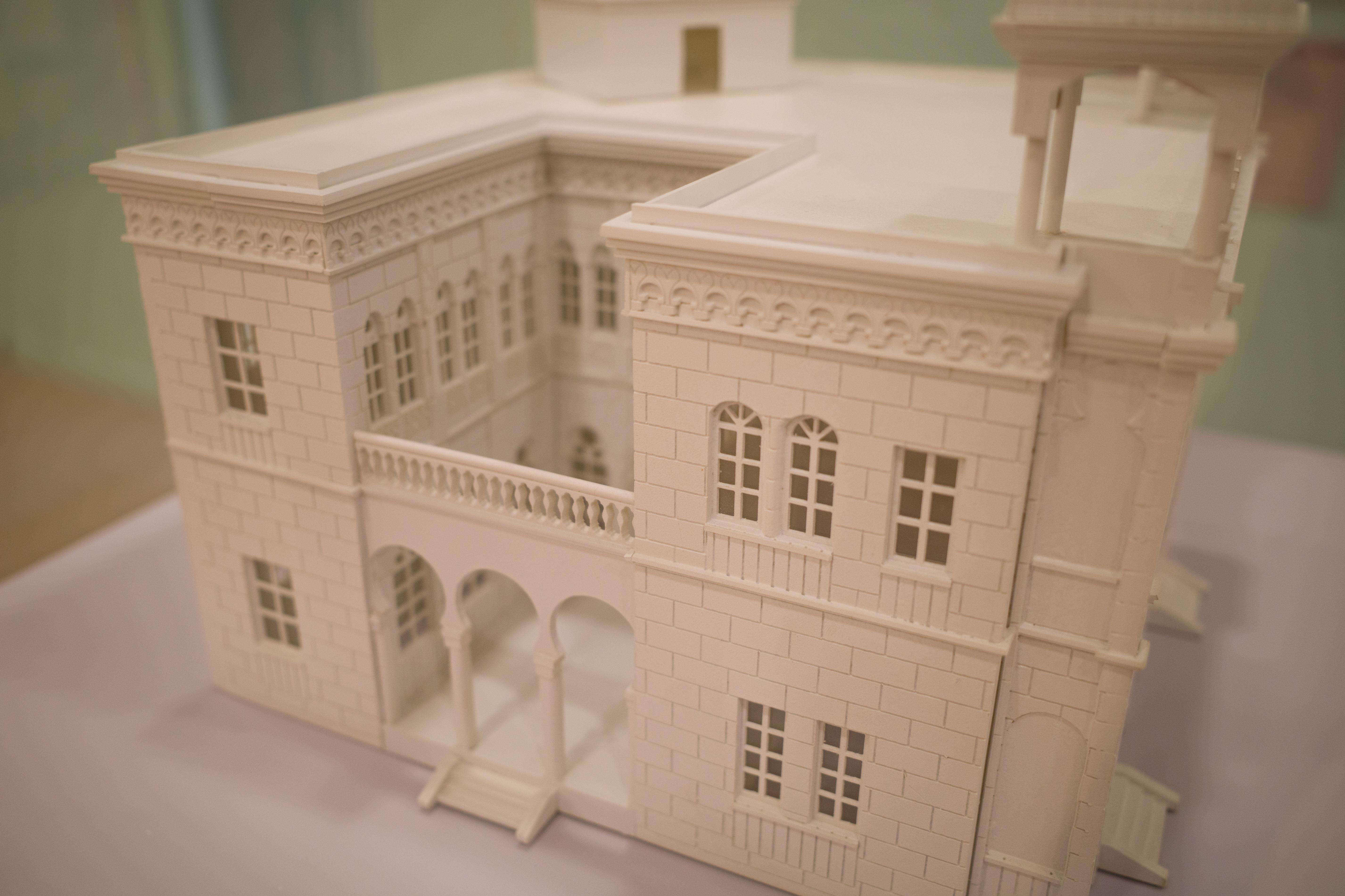 雷玛氏避暑公馆(1924)建筑模型 ,现址为多伦路250号。