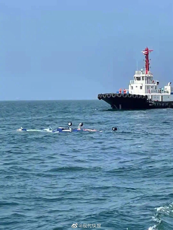 江苏连云港海域一直升机坠海,3人获救1人死亡