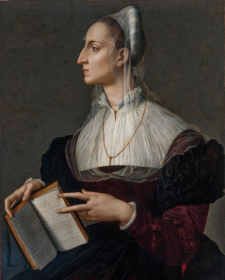 布龙齐诺,《劳拉·巴蒂菲里》,约1560