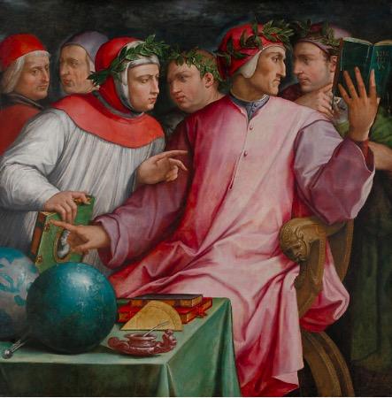 瓦萨里,《托斯卡纳六诗人》,1544