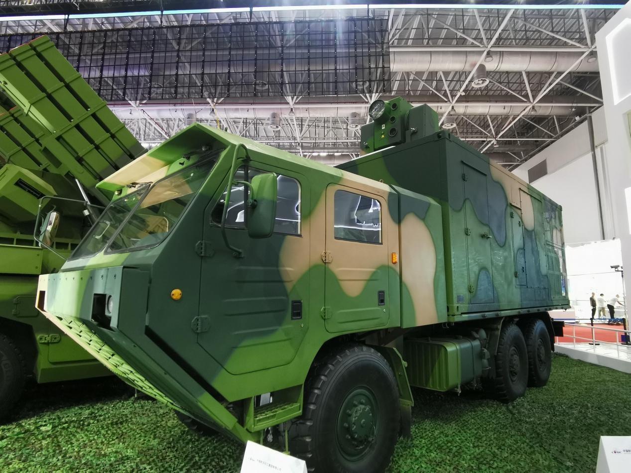 航天科工展示的LW-30激光防御系统。