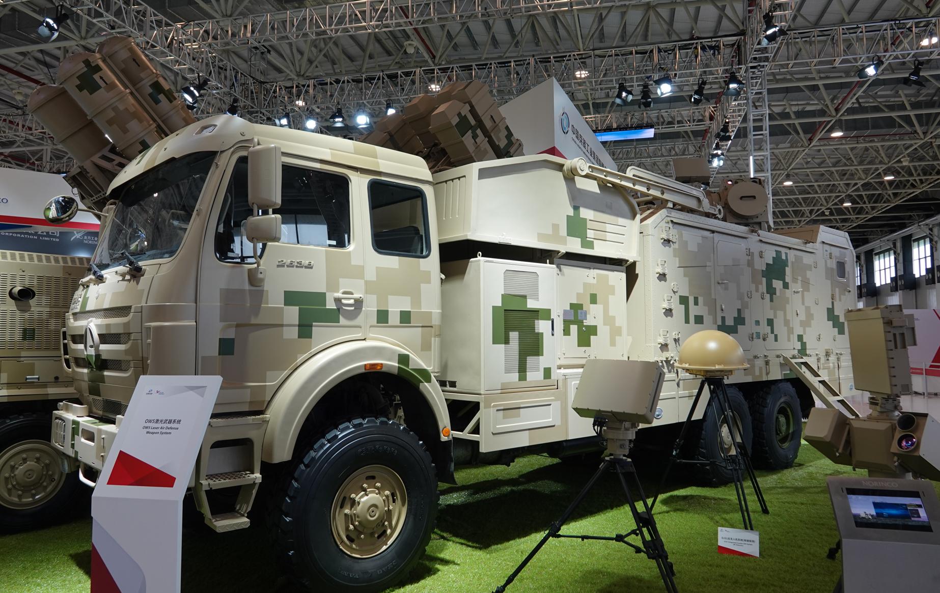 OW5激光武器系统。