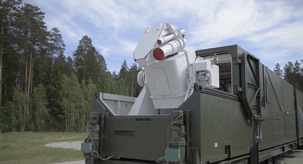 """俄罗斯""""佩列斯韦特""""激光武器。"""