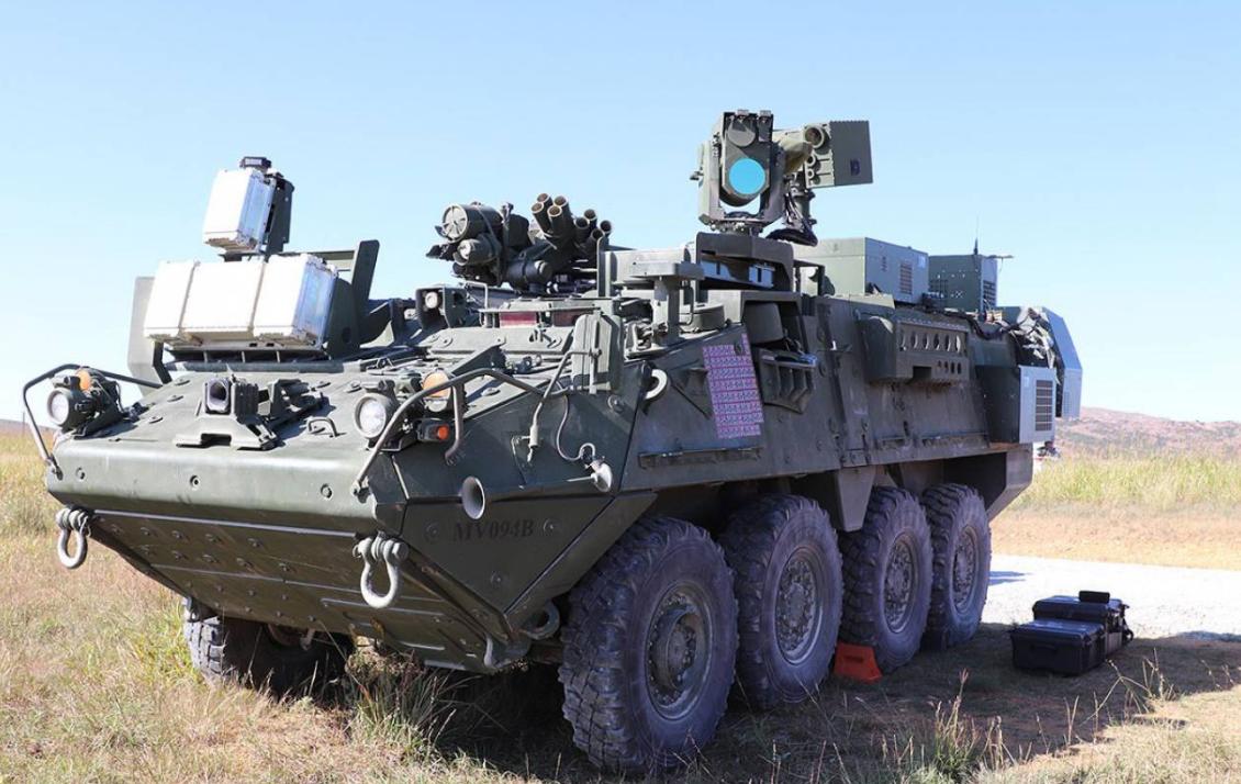 安装了激光武器的Stryker步兵战车。
