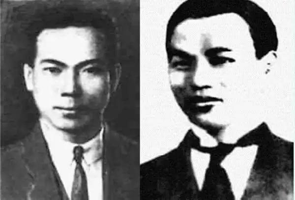 陈延年(左)、陈乔年(右)