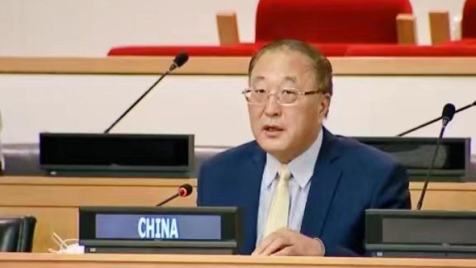 中国常驻联合国代表:正告美国收起傲慢与偏见,不要一错再错