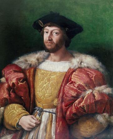 拉斐尔,《洛伦佐·德·美第奇(乌尔比诺公爵)》,1518