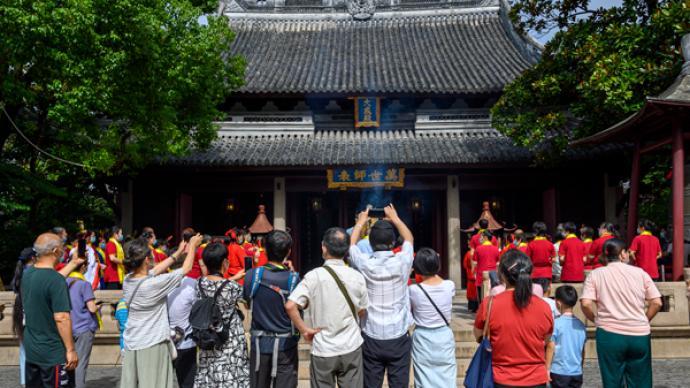 """""""百岁""""上海文庙将换""""新颜"""",自10月8日起闭园修缮"""