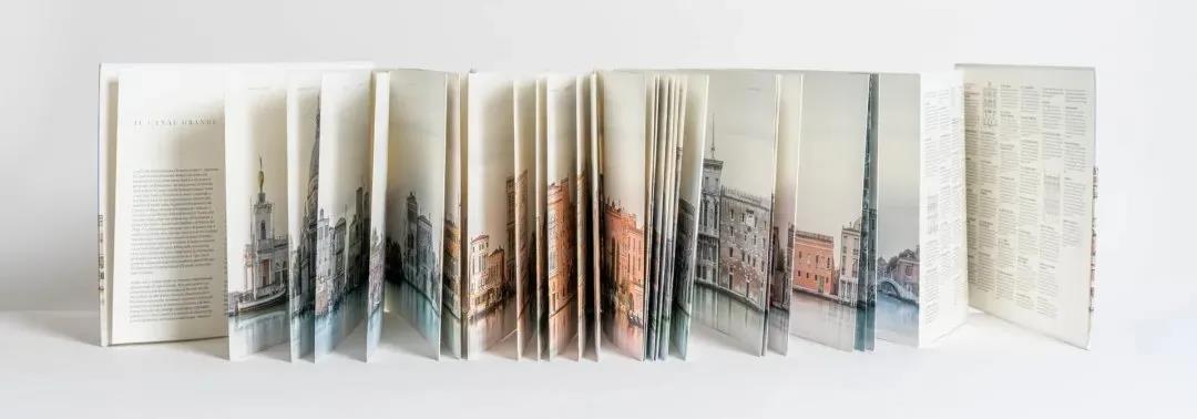 《威尼斯长卷》全部展开后长达1920厘米