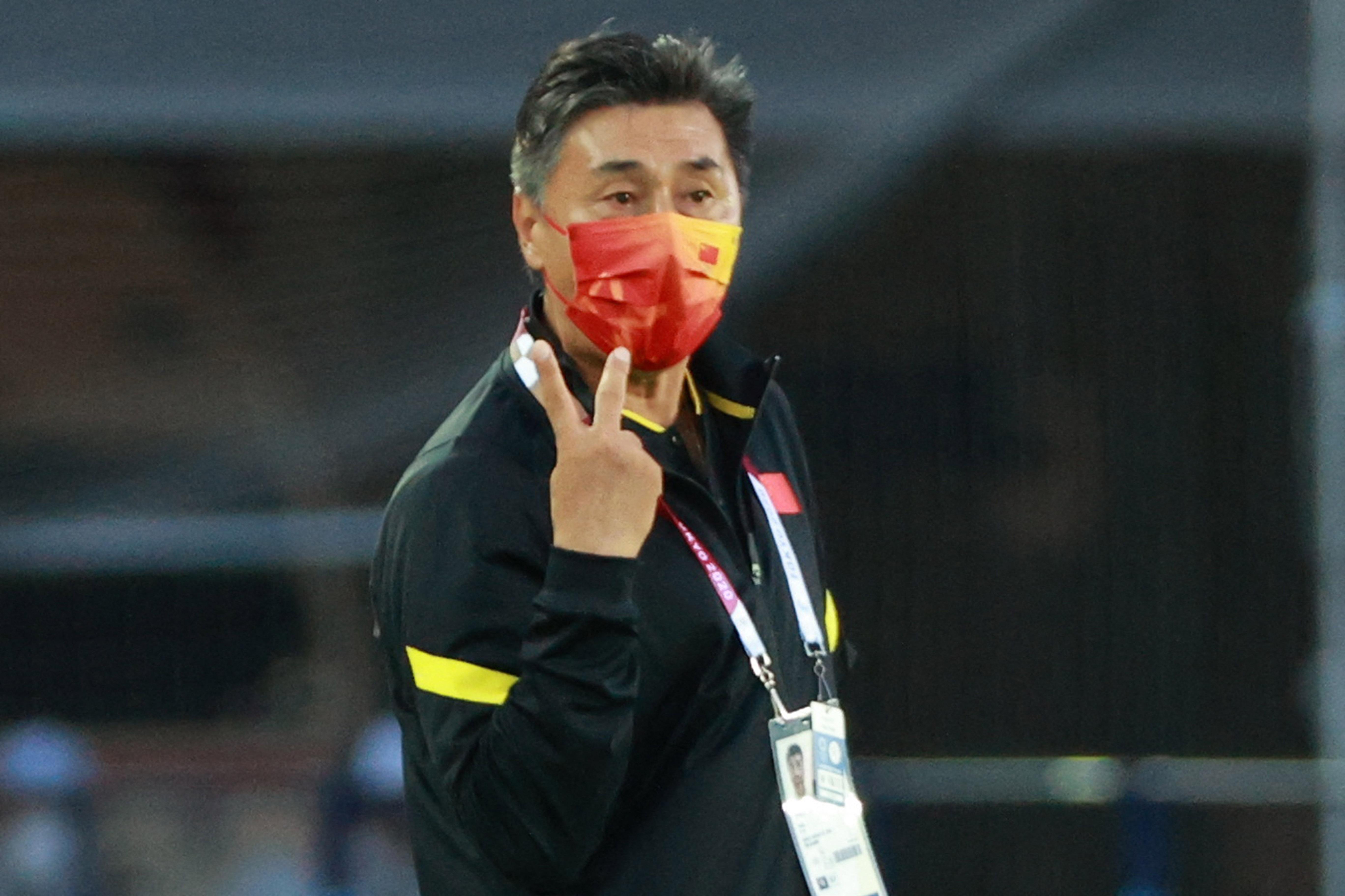 中国女足前主帅贾秀全。
