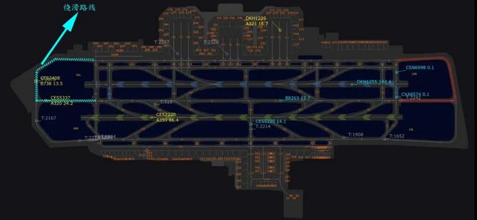 全国首例!华东空管在上海虹桥机场实施近距跑道绕滑运行-第2张图片-蓝狮娱乐