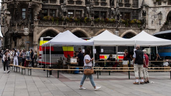 德国新冠累计确诊超430万,将取消免费检测