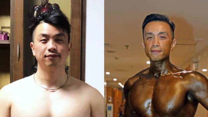 41岁癌症晚期,他却161天减脂31斤,站上健美赛场