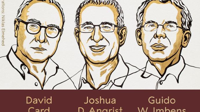 诺贝尔经济学奖授予3位美国经济学家,提供劳动力市场新见解