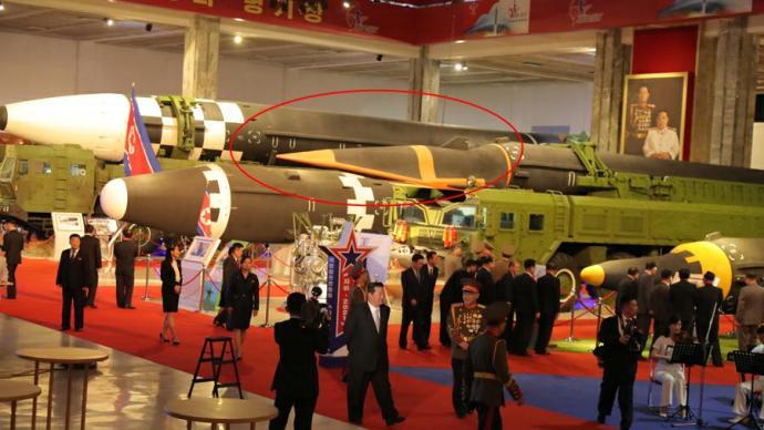 朝鲜举行国防发展展览会,高超音速导弹首次近距离公开
