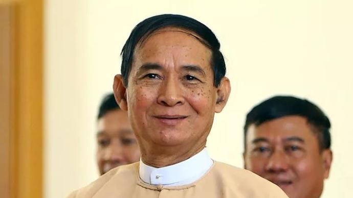缅甸总统温敏首次透露被扣押细节:两名军官当场威胁其辞职